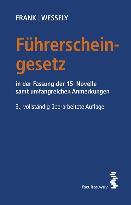 Führerscheingesetz (FSG) cover