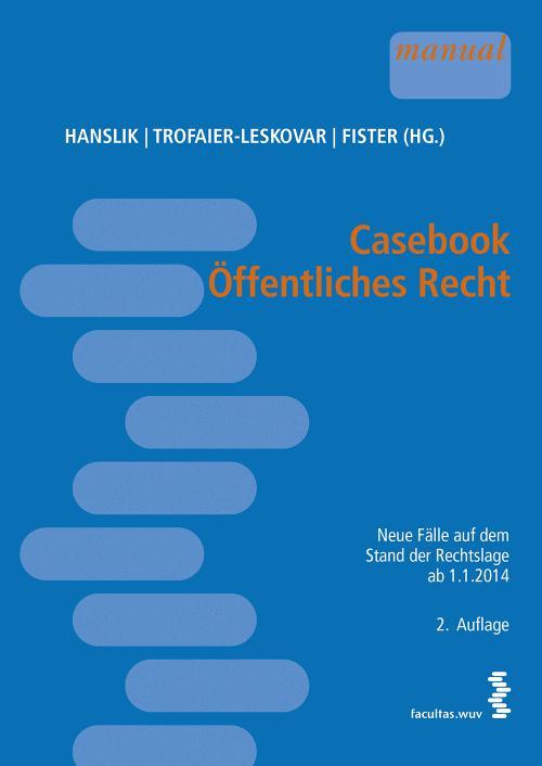 Casebook Öffentliches Recht cover