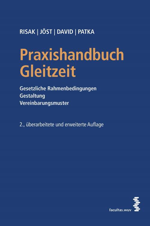 Praxishandbuch Gleitzeit cover
