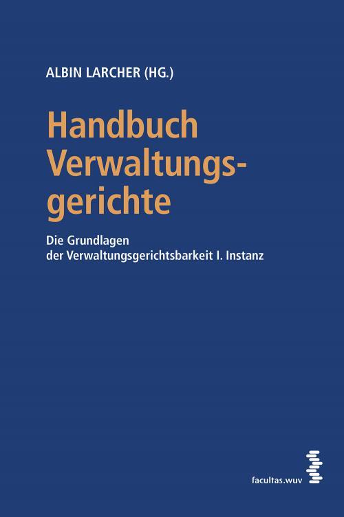 Handbuch Verwaltungsgerichte cover