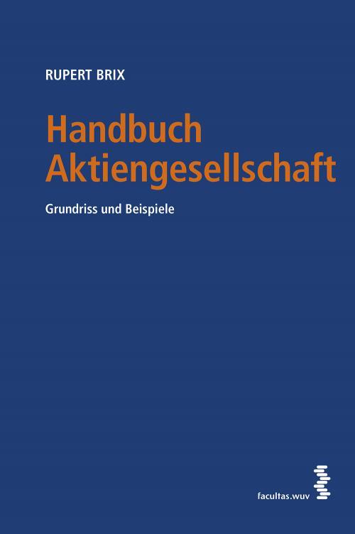 Handbuch Aktiengesellschaft cover