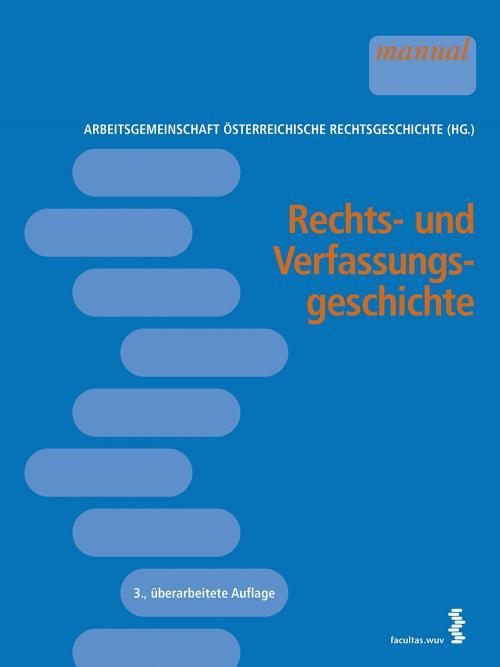 Rechts- und Verfassungsgeschichte cover
