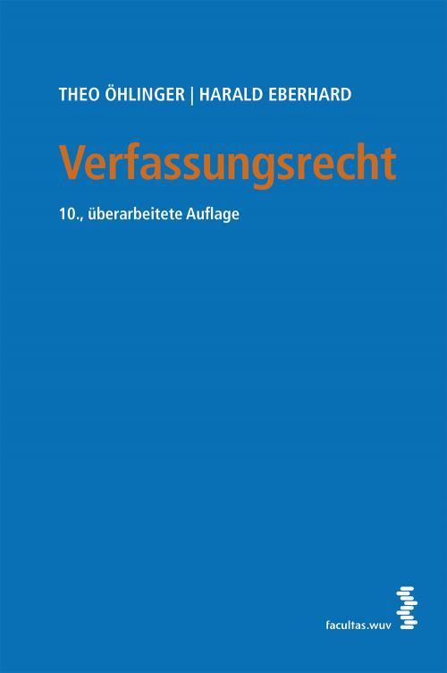 Verfassungsrecht cover