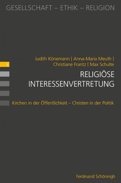 Religiöse Interessenvertretung cover