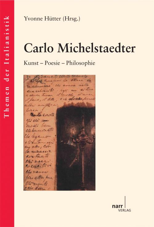 Carlo Michelstaedter cover