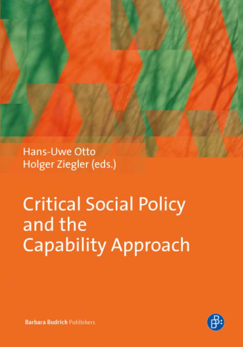 Critical Social Policy and the Capability Approach cover