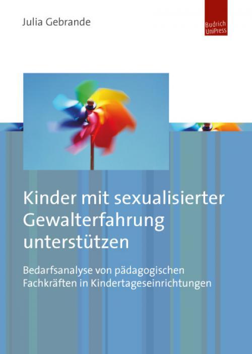 Kinder mit sexualisierter Gewalterfahrung unterstützen cover