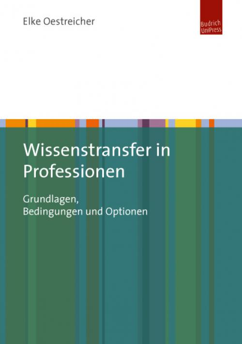 Wissenstransfer in Professionen cover