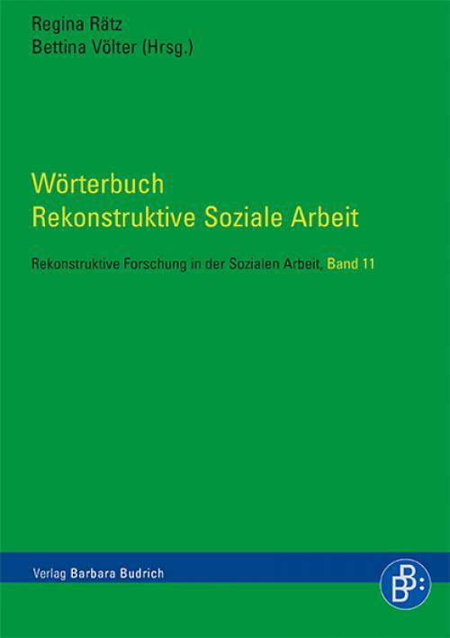 Wörterbuch Rekonstruktive Soziale Arbeit cover