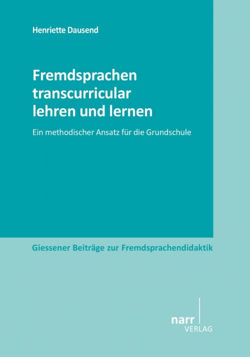 Fremdsprachen transcurricular lehren und lernen cover
