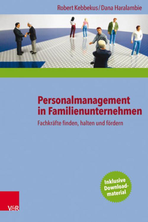 Personalmanagement in Familienunternehmen cover