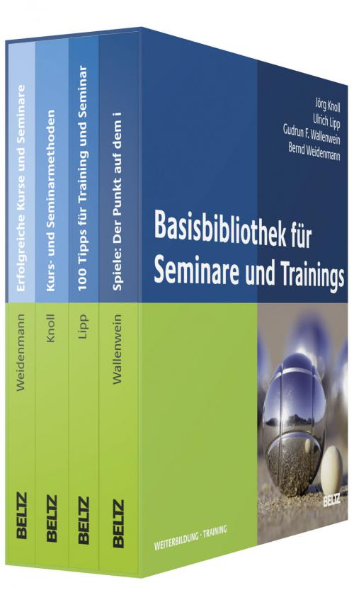 Basis-Bibliothek für Seminare und Trainings cover