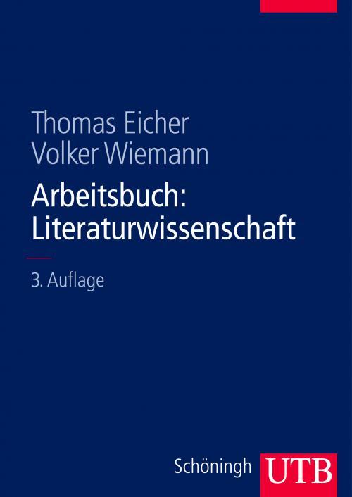 Arbeitsbuch: Literaturwissenschaft cover