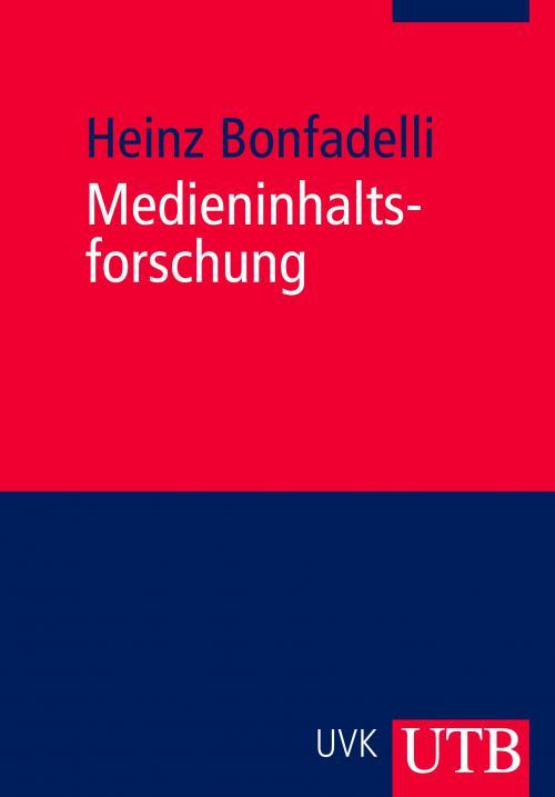 Medieninhaltsforschung cover