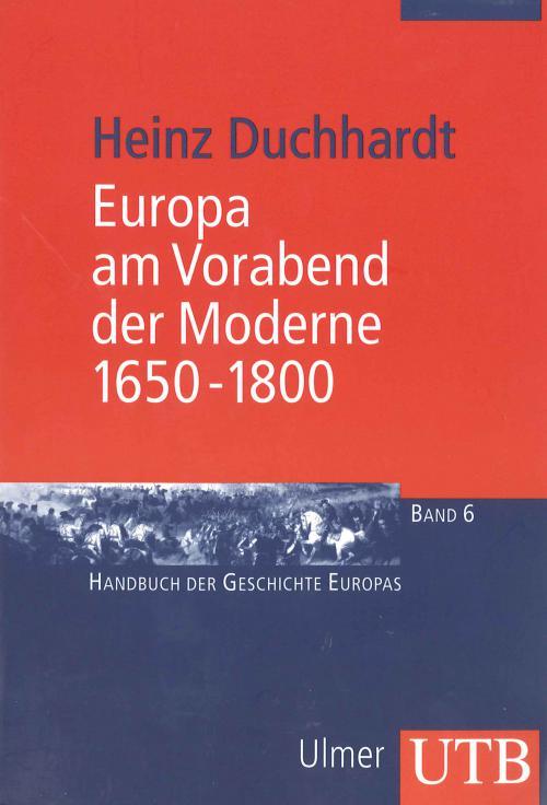 Europa am Vorabend der Moderne 1650-1800 cover