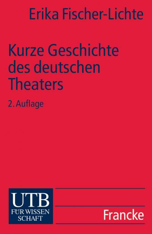 Kurze Geschichte des deutschen Theaters cover