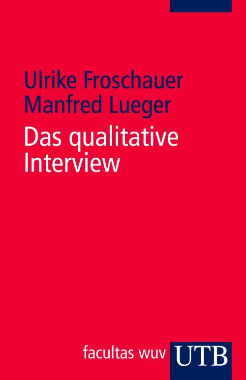Das qualitative Interview cover