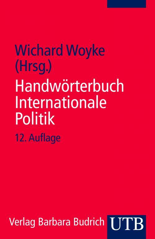 Handwörterbuch Internationale Politik cover