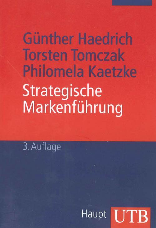Strategische Markenführung cover