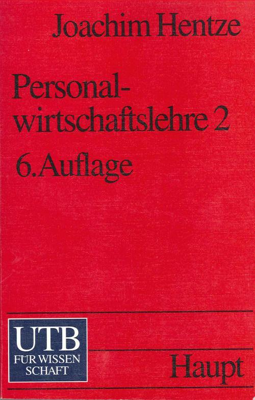 Personalwirtschaftslehre 1 cover