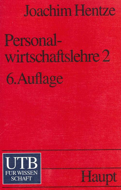 Personalwirtschaftslehre 2 cover