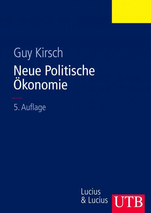 Neue Politische Ökonomie cover