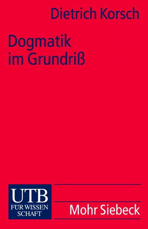 Dogmatik im Grundriß cover