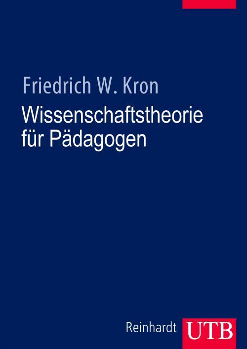 Wissenschaftstheorie für Pädagogen cover