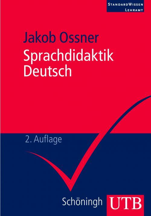 Sprachdidaktik Deutsch cover