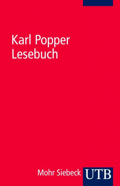 Karl Popper Lesebuch cover
