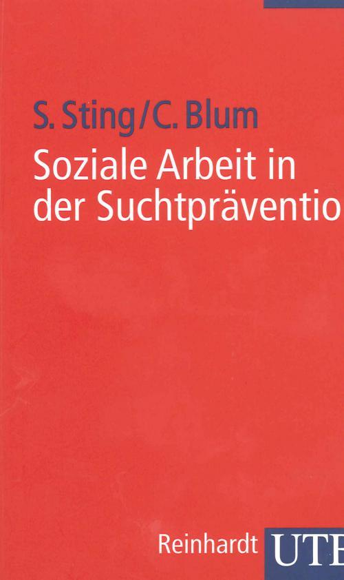 Soziale Arbeit in der Suchtprävention cover