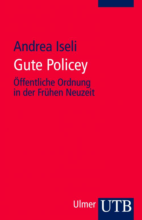 Gute Policey cover