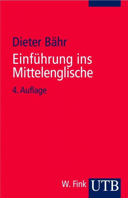 Einführung ins Mittelenglische cover