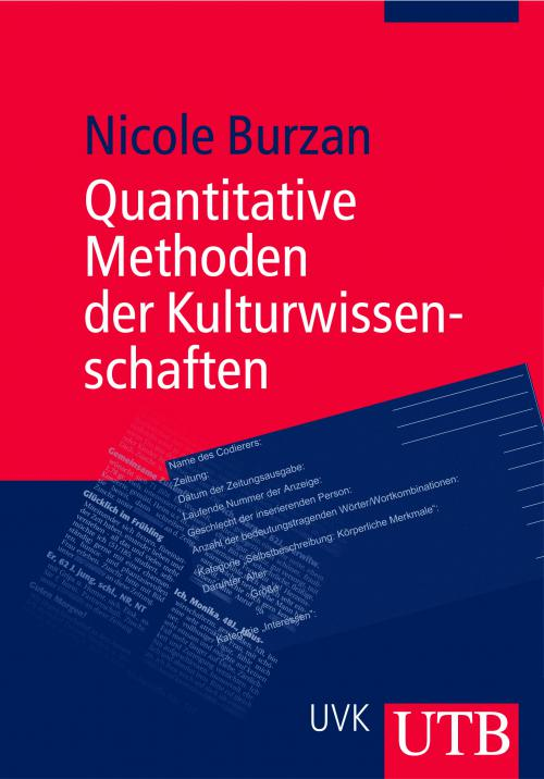 Quanitative Methoden der Kulturwissenschaften cover