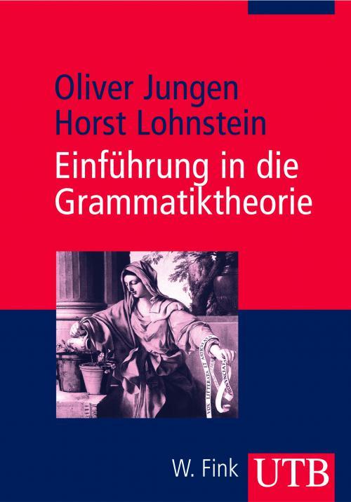 Einführung in die Grammatiktheorie cover
