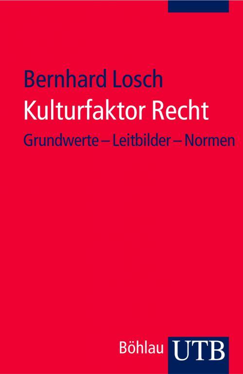 Kulturfaktor Recht cover