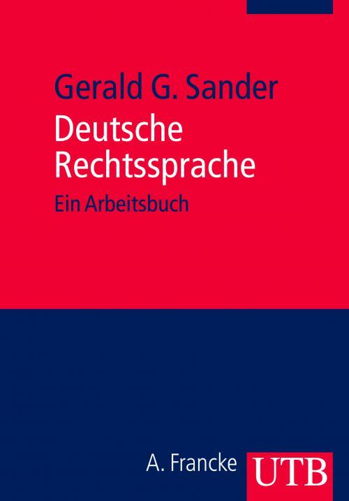 Deutsche Rechtssprache cover