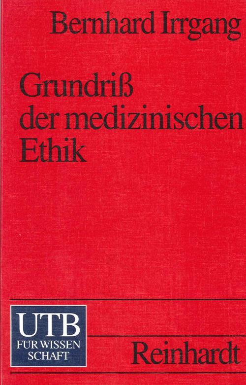 Grundriss der medizinischen Ethik cover