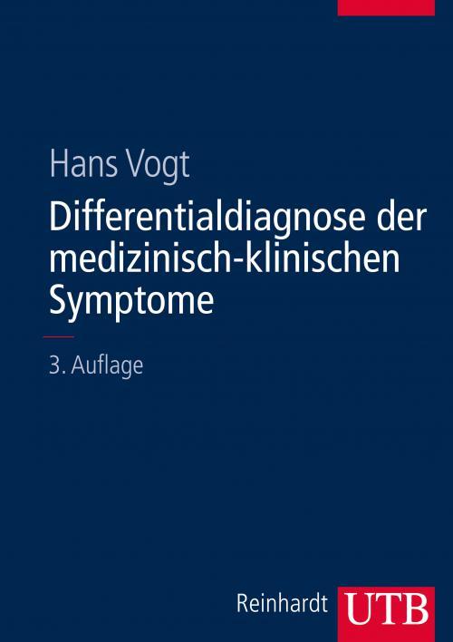 Differentialdiagnose der medizinisch-klinischen Symptome cover