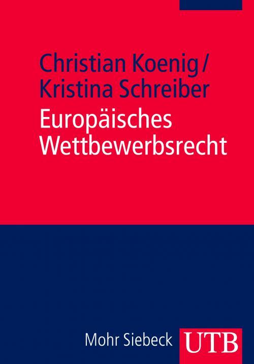 Europäisches Wettbewerbsrecht cover