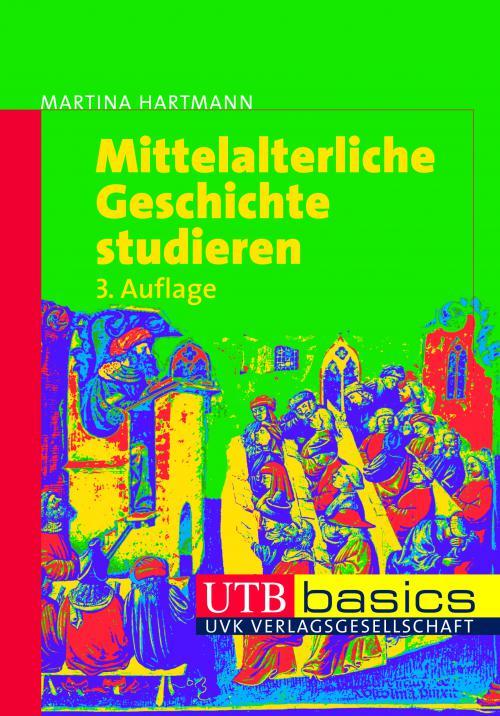 Mittelalterliche Geschichte studieren cover