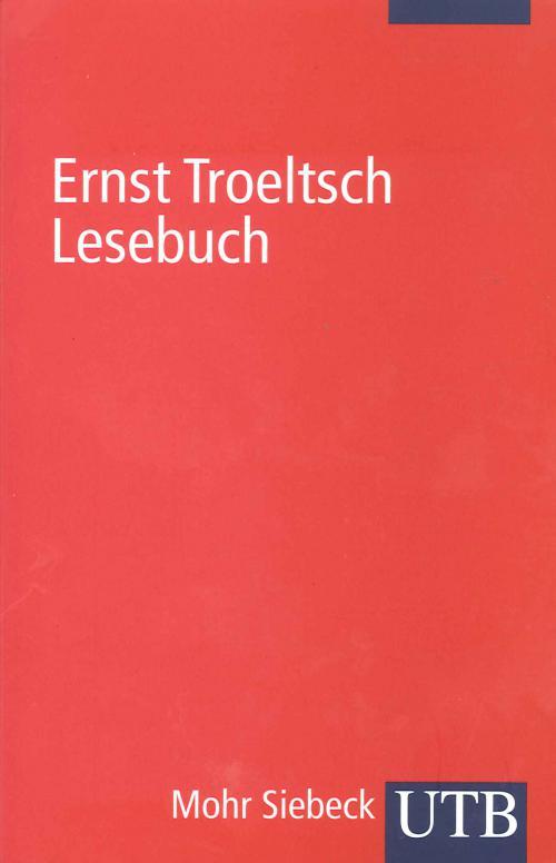 Ernst Troeltsch Lesebuch cover