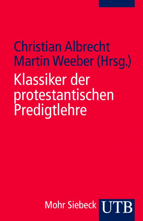 Klassiker der protestantischen Predigtlehre cover