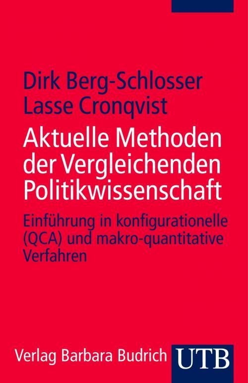 Aktuelle Methoden der Vergleichenden Politikwissenschaft cover