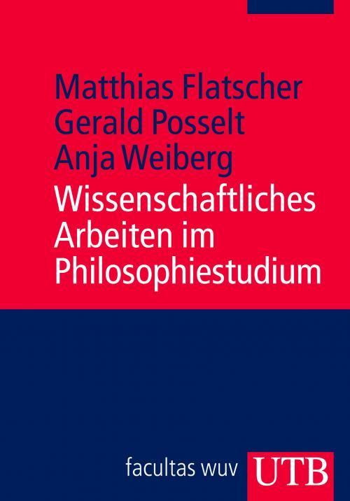 Wissenschaftliches Arbeiten im Philosophiestudium cover