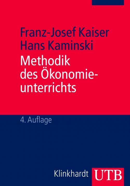 Methodik des Ökonomieunterrichts cover