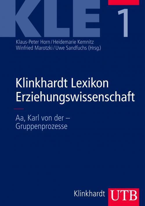 Klinkhardt Lexikon Erziehungswissenschaft (KLE) cover