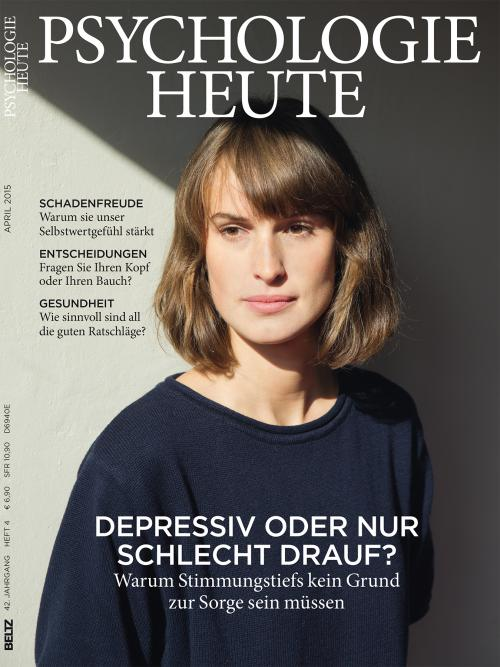 Psychologie Heute 4/2015 cover