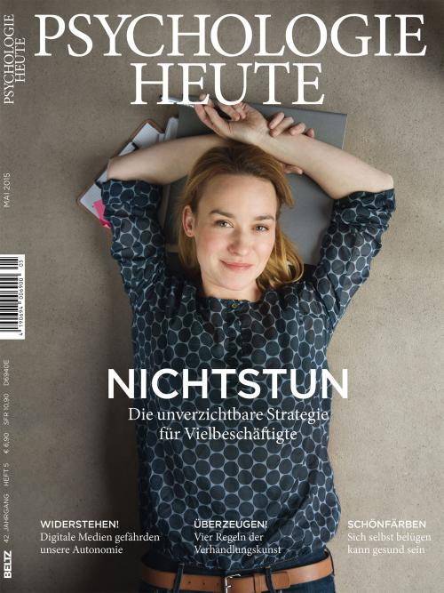 Psychologie Heute 5/2015 cover