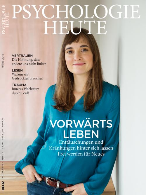 Psychologie Heute 3/2015 cover